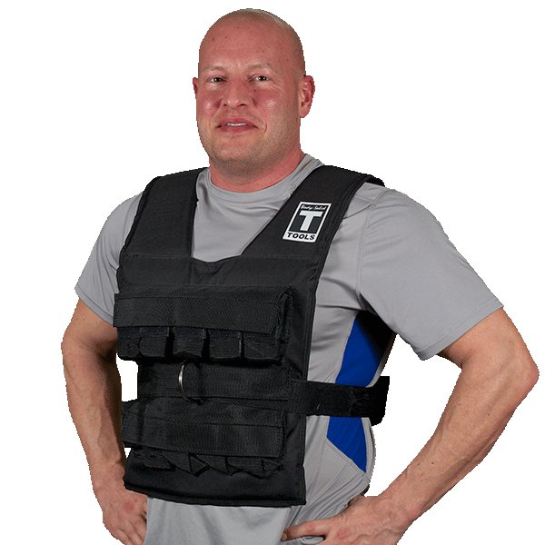 Body Solid Weighted Vest 40lbs BSTWV40