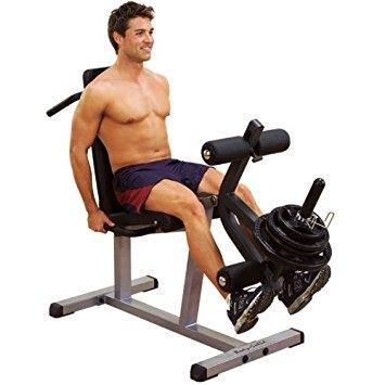 "Body Solid 2"" x 3"" Leg Curl Leg Extension Combo GLCE365"