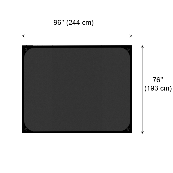 C7200 Black rubberized surface