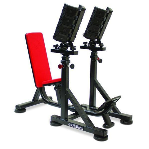 Atlantis Strength E-548 Precision Series Straight Dumbbell Bench with Pivot