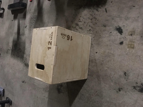 "FPD Wood 3 N 1 Plyo Box 12"" x 16"" x 18"""