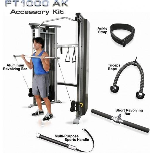 Inflight Fitness FT1000 5-Piece Accessory Kit