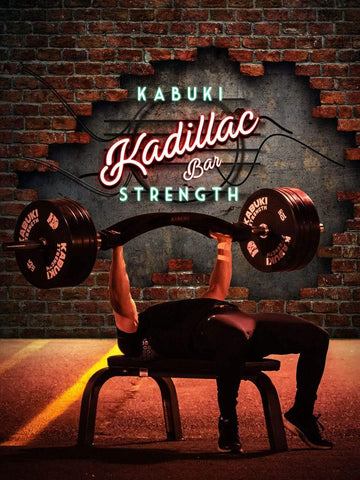 Kabuki Strength Kadillac Cambered Swiss Bar - Kadillac Specialty Bench Bar