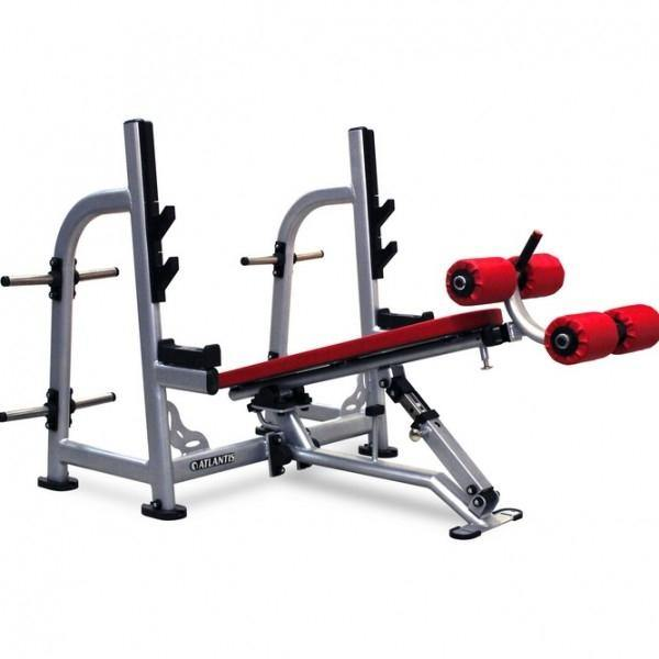 P-239 Olympic Flat Decline Bench Press