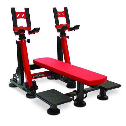 P-537 Flat Dumbbell Bench with pivots