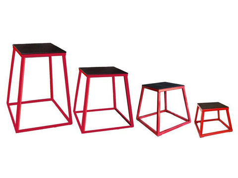 Apollo Stackable Metal Plyo Boxes