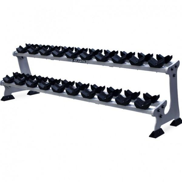 S-287B Hex Dumbbell Rack (10 Pairs)