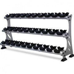 S-289 Hex Dumbbell Rack (15 Pairs)