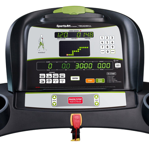 SportsArt T615 Foundation Series Light Commerical Treadmill with Eco-Glide System
