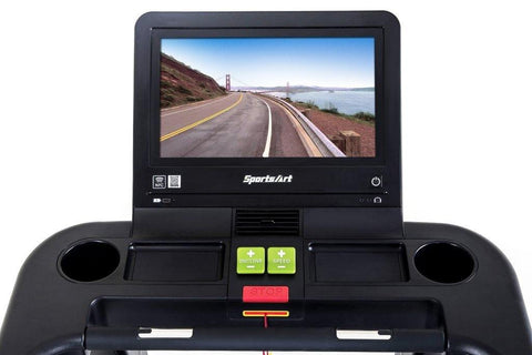 "SportsArt T656 Status Senza Treadmill with 19"" Monitor"