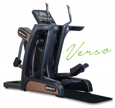 "SportsArt V886 Verso Status Senza Cross Trainer with 16"" Senza Touchscreen Monitor"
