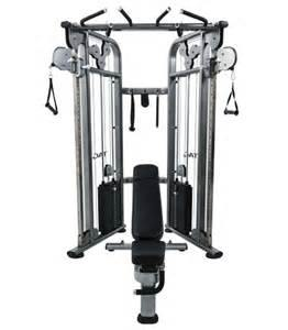 TAG Functional Trainer with 2-210lb Stacks & Accessories