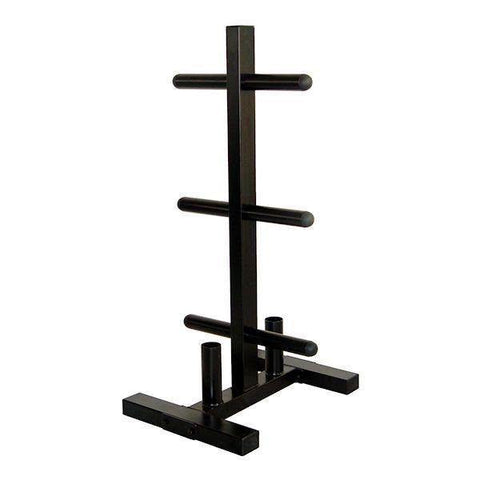 Troy Bumper Plate Tree with 2 Bar Storage GOPT