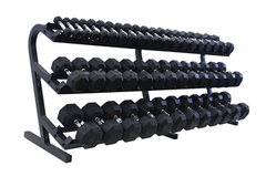 Troy TDR-3 Dumbbell Rack 3-Tier 5-100LB Horizontal
