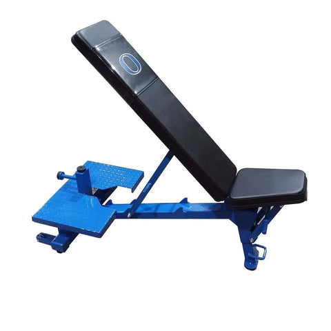 Wright Equipment Adjustable Bench with Spotter Platform