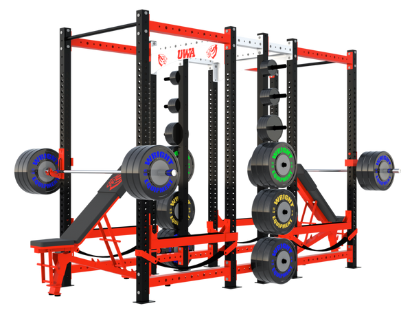 Wright Equipment CX-300DBL Double Power Rack