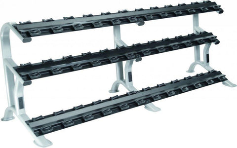 York 3 Tier Saddle Dumbbell Rack