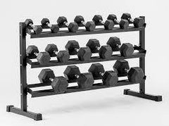 York Barbell Three Tier Dumbbell Rack 69127
