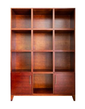 Cardine Fine Wood Finish Curio Cabinet