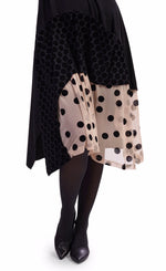 Load image into Gallery viewer, Alembika Black Dress w/ Dots