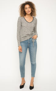 Mystree Leopard Thermal Top