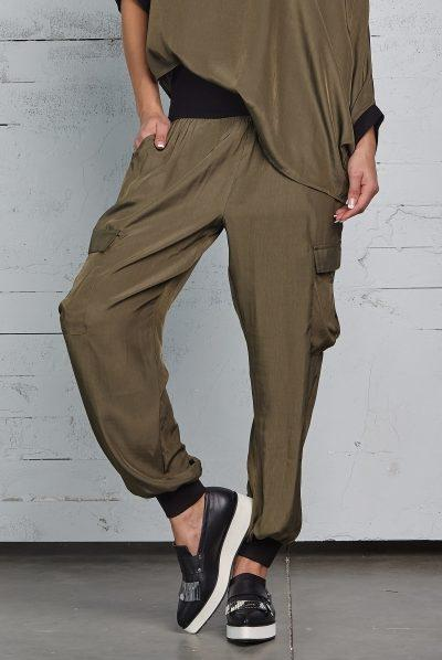 Planet Silky Cargo Joggers - ModeAlise