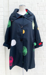 Load image into Gallery viewer, Samuel Dong Dots Tunic Jacket