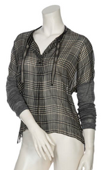 Load image into Gallery viewer, Beate Heymann Checkered Blouse