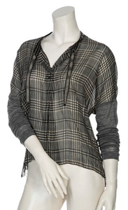 Beate Heymann Checkered Blouse
