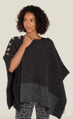 Load image into Gallery viewer, Barefoot Dreams CozyChic Coastline Poncho
