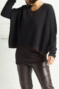 Planet Basket Weave Sweater