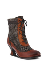 Load image into Gallery viewer, Bewitch-Plaid Bootie