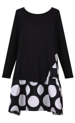 Load image into Gallery viewer, Alembika Dot Tunic Top