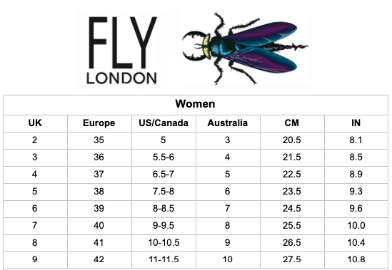 Fly London Yaku