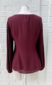 Frank Lyman Burgundy Top