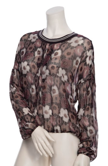 Beate Heymann Rose Blouse