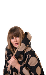 Load image into Gallery viewer, Alembika Spheres Cocoon Jacket/Coat