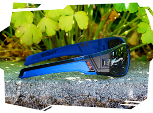 V.1 - Matte Black/Blue - Polarized