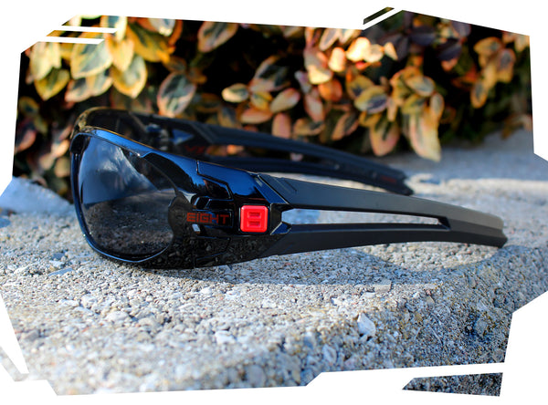 VX - Gloss Black Red - Polarized