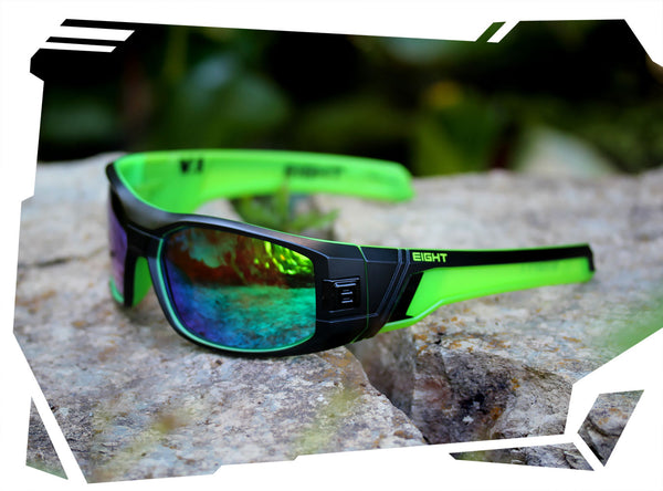 1599fe7ee8 V.1 - Matte Black Green - Green REVO Polarized