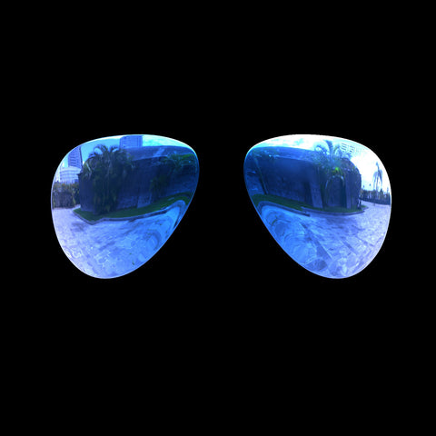 VEKTOR - Polarized Lenses - Blue Mirror