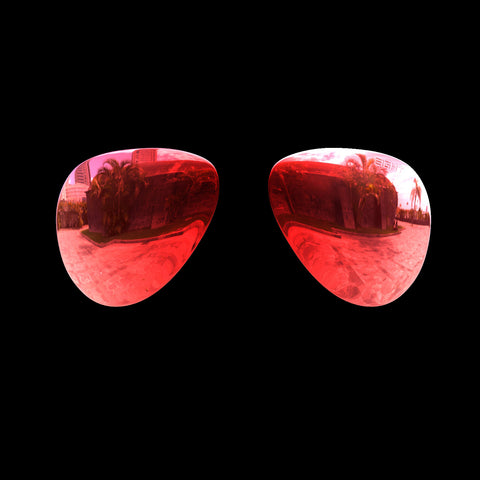VEKTOR - Polarized Lenses - Red Mirror