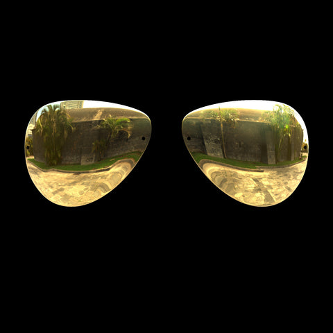 VLUX - Polarized Lenses - Gold Mirror