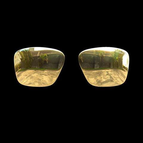 VAPOR - Polarized Lenses - Gold Mirror