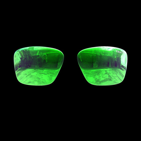 VAPOR - Polarized Lenses - Green Mirror