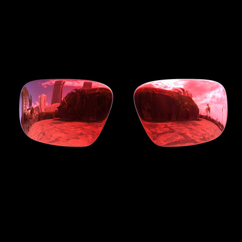 VX - Polarized Lenses - Red Mirror