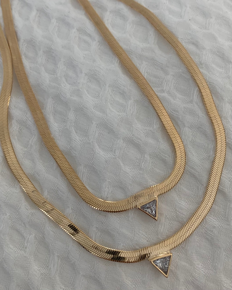 Diamond Snake Chain