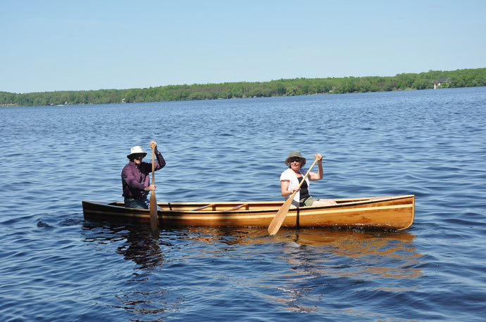 Family Canoe Building Extravaganza by Matthew Rae, Kingston, ON, Canada