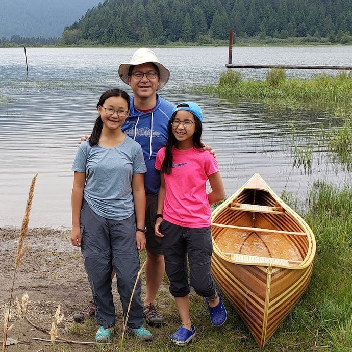 Meet the Yeungs: Canoe Building as a Family Project