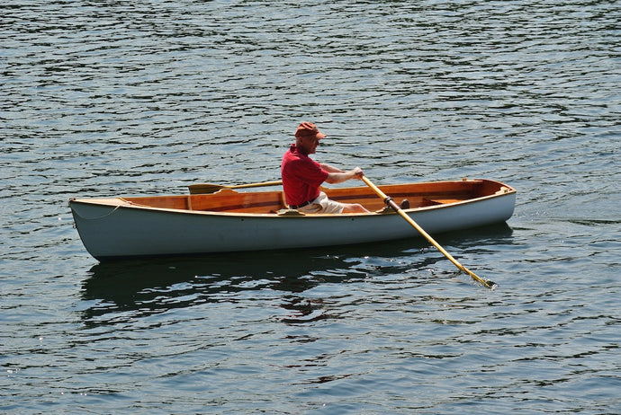 Rice Lake Rowing Skiff by Joe Paterson, Peterborough, ON Canada